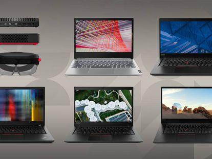 Portátiles de Lenovo.
