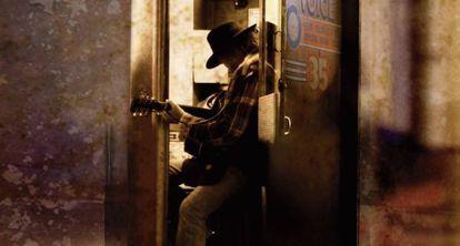Portada del nuevo álbum de Neil Young, 'A letter home'.
