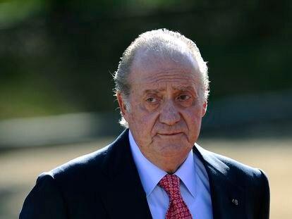 El rey Juan Carlos I, en un acto en Madrid, a primeros de 2011.