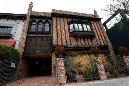 La sede de la Asociación de la Prensa Extranjera de Hollywood, el pasado 10 de mayo.