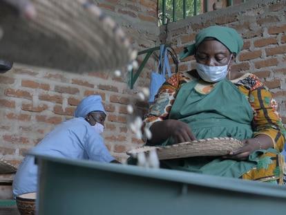 Désirée Nguékadjita es la fundadora de una cooperativa de transformación y venta de productos locales de mujeres en Yamena, la capital de Chad.
