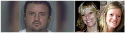 Timothy Verrill, presunto asesino de Christine Sullivan y Jenna Pellegrini (derecha).