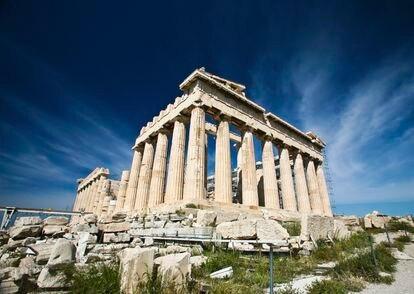 El Partenón de Atenas, en una imagen de archivo.
