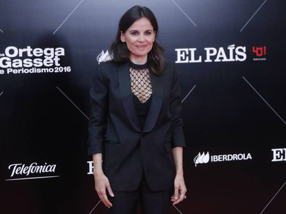 Elena Anaya, en los premios Ortega y Gasset de EL PAÍS.