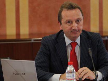Manuel Recio, en la comisión parlamentaria que investiga los ERE.