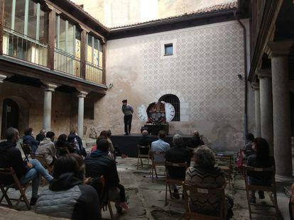 Una de las funciones de este fin de semana en Segovia. La mayoría se celebraron al aire libre para aumentar la seguridad.