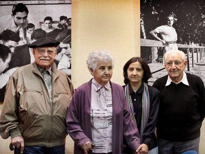De izquierda a derecha, Agustín Quiles, María Luisa Pérez, Cristina Escrivá y Emilio Monzó.