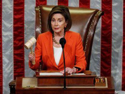 La mayoría demócrata de la Cámara baja saca adelante las normas para poner en marcha el juicio parlamentario al presidente
