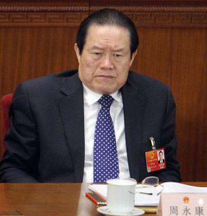 Zhou Yongkangen, en marzo de 2012.