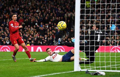 Tottenham-Liverpool del pasado enero.