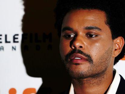 The Weeknd, en el festival de cine de Toronto en septiembre de 2019.