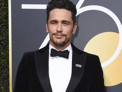 James Franco, en la pasada gala de los Globos de Oro.