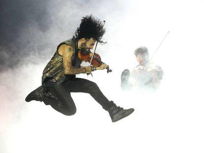 Malikian durante su concierto en el Festival Cervantino