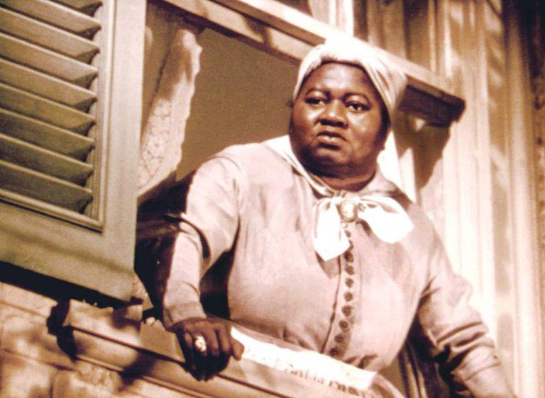 Hattie McDaniel, en una escena de 'Lo que el viento se llevó'.