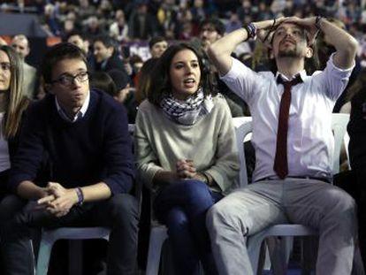 El líder de Podemos aboga por  feminizar  las portavocías del partido