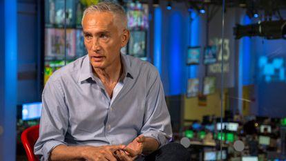 El periodista Jorge Ramos, en el estudio de Univisión, en una imagen de 2018.