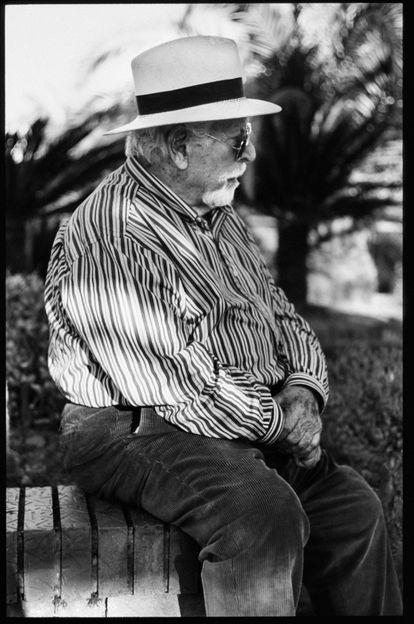 Una de las imágenes de '2016', libro fotográfico que el autor dedica a su abuelo.