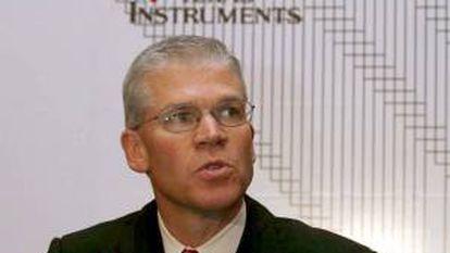 En la imagen, el presidente de la compañía Texas Instruments, Richard K. Templenton. EFE/Archivo