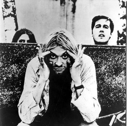 La banda de 'grunge' Nirvana.