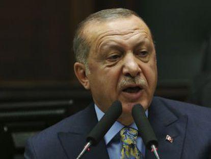 El presidente turco asegura que confía en el rey Salmán, al que pide que entregue a los 18 detenidos para que sean juzgados en Turquía