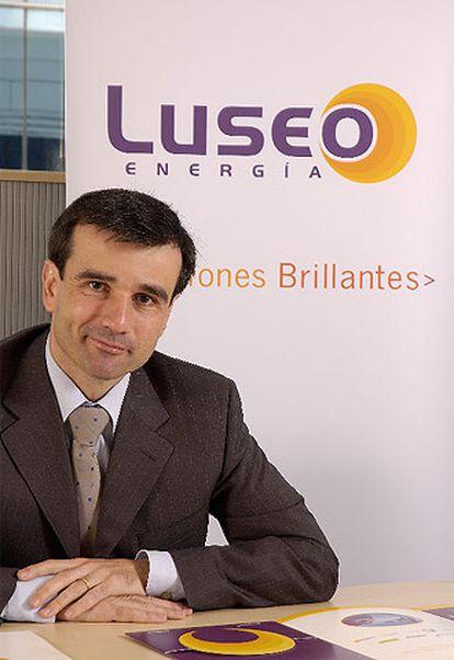 Enrique Giménez Sainz de la Maza, director general de Luseo Energía.