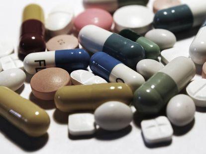 Una imagen de archivo de pastillas antidepresivas.