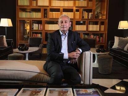 Nasser Kamel, secretario general de la Unión por el Mediterráneo, en un hotel de Madrid el 25 de mayo.
