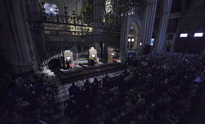 Batalla de órganos en la catedral de Toledo, por el aniversario de El Greco.