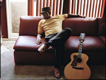 El cantante Bobby Womack.