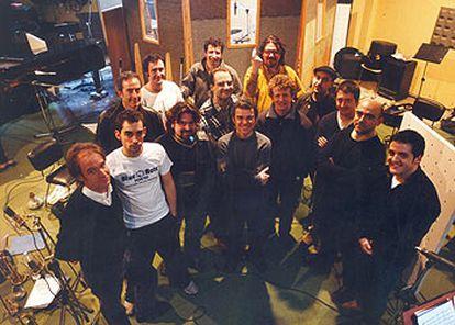 Los integrantes del Ramón Quadrada Big Band.
