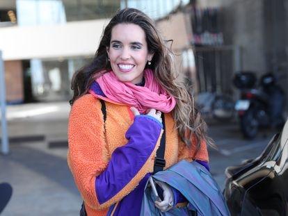 Ona Carbonell, en Barcelona, el pasado marzo.