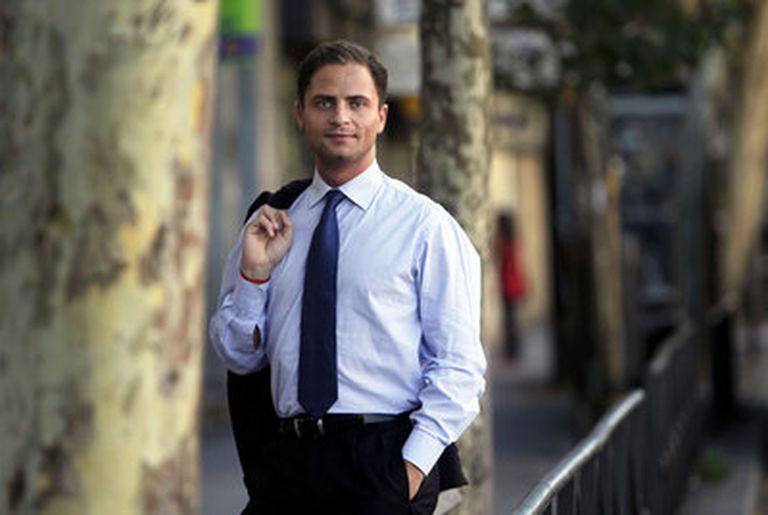 Borja Cabezón (30 años), secretario general del PSOE en Majadahonda (Madrid).