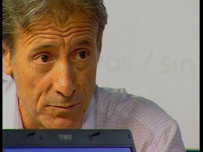 Pedro Escobar, coordinador de IU Extremadura.