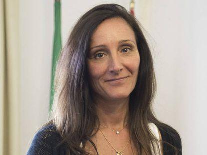 La juez María Núñez, en su despacho de Sevilla.