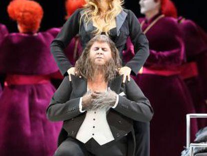 Un momento de la ópera 'Manon Lescaut'.