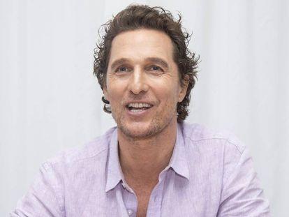Matthew McConaughey, el pasado enero en California (EE UU).