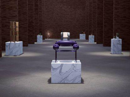 Una vista de la exposición 'Back to basis'.