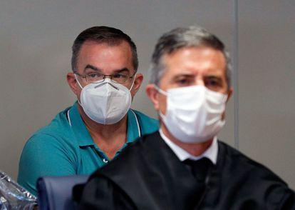 Salvador R., el examante de Maje y acusado del asesinato del ingeniero Antonio Navarro.
