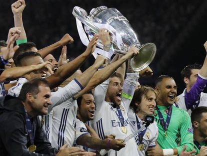 Real Madrid celebra la duodécima Copa de Europa