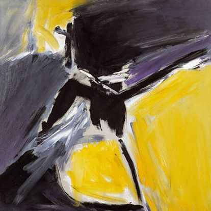 <i>Albaicín</i> (1962), una de las obras de la colección del Centro José Guerrero.