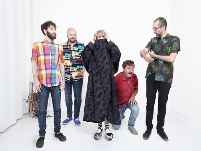 El quinteto madrileño Los Punsetes, presenta su nuevo disco el sábado en la sala Joy Eslava.