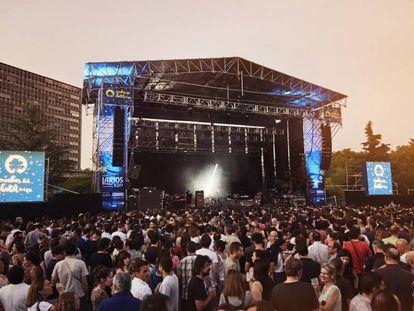 Actuación de Wilco en una de las anteriores ediciones de Noches del Botánico.