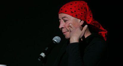 El escritor, poeta y artista chileno Pedro Lemebel, en agosto de 2009.