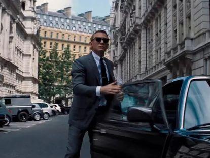 Daniel Craig, en 'Sin tiempo para morir', la nueva entrega de la saga Bond, que se estrenará el 8 de octubre.