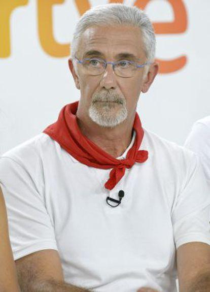 Javier Solano, en la presentación de la programación de los Sanfermines.