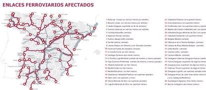 Fuentes: Plan de Adecuación de Servicios 2013, de Renfe y elaboración propia.