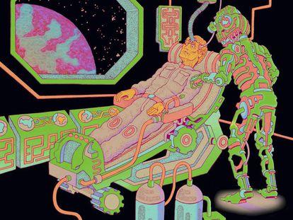 """""""Una base lunar y otra en Marte tal vez podrían ayudar a regenerar la vida aquí en la Tierra"""", aseguró Elon Musk."""