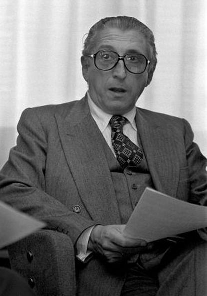Antonio Barrera de Irimo, exministro de Franco y expresidente de Telefónica.