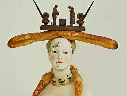 'Busto de mujer retrospectivo', de Salvador Dalí, 1933, inventariado con el número de catálogo 14, que se conserva en el MoMA.