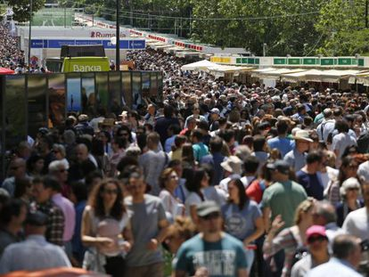 La Feria del Libro de Madrid esta semana.